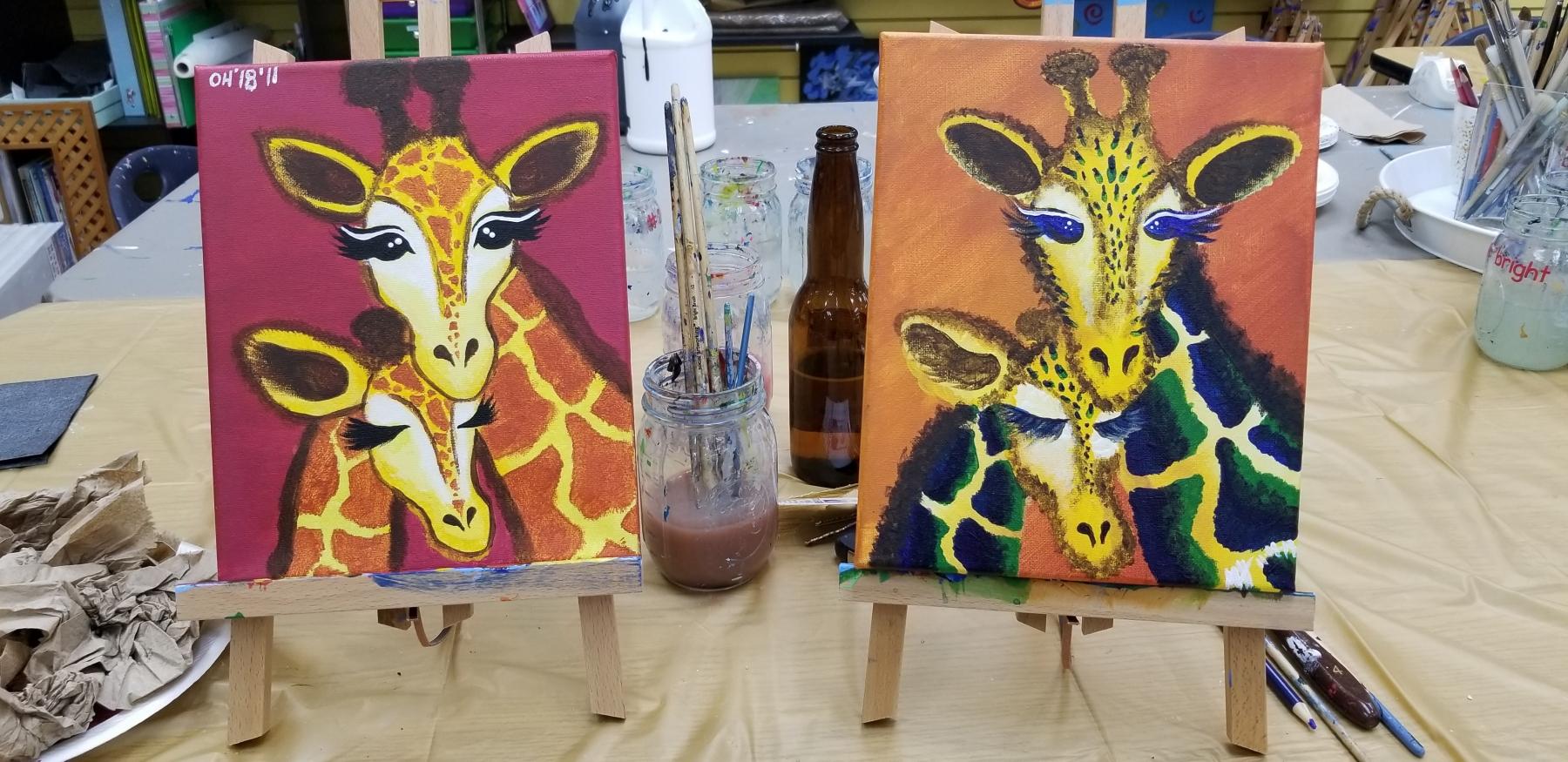 giraffepaintings